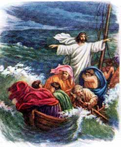 Jesus Calmed the Storm Free Gift From God